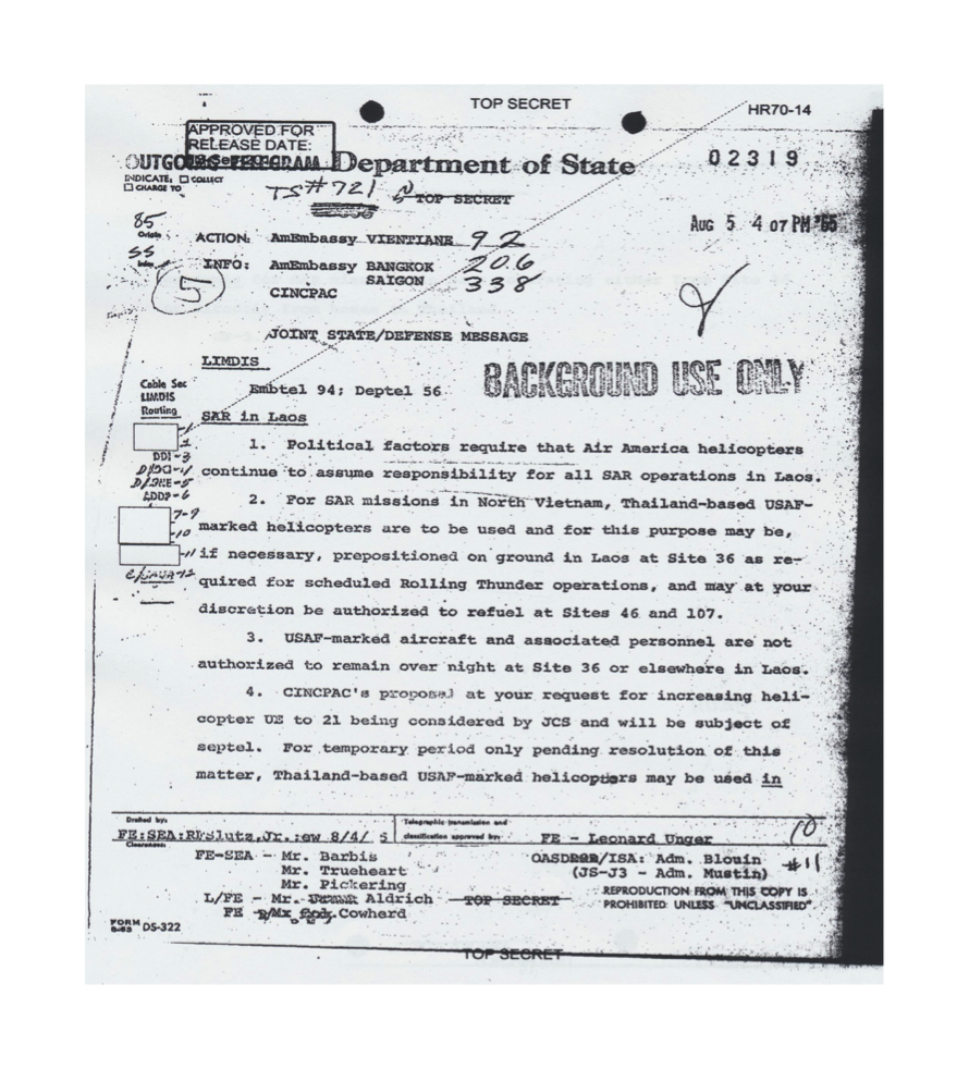 Air america history therefore air america did have jurisdiction and authority to perform military activity in laos the checo report along with the top secret directive from fandeluxe Images
